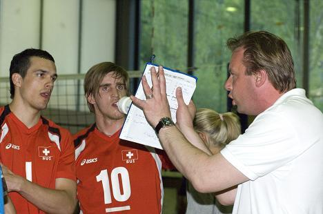 Michel volleyball