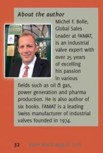 Michel F. Bolle Valve World Magazine