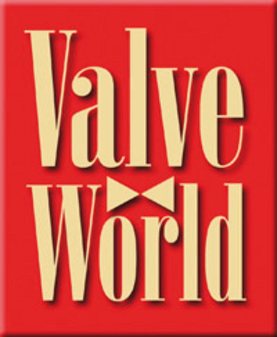 Valve World Magazine Logo